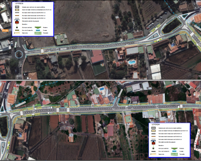 Proyecto de Construcción «Acondicionamiento de la carretera insular TF-165 del P.K. 0+000 al P.K. 2+550»