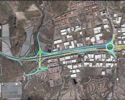 Proyecto de Construcción de «Corredor Hidráulico en el Nuevo Enlace de Las Chafiras de la autopista TF-1»