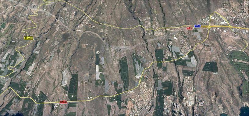 Estudio de tráfico, movilidad y transporte público para la Revisión parcial 04 del P.G.O. de Adeje en el ámbito de Hoya Grande SO-8