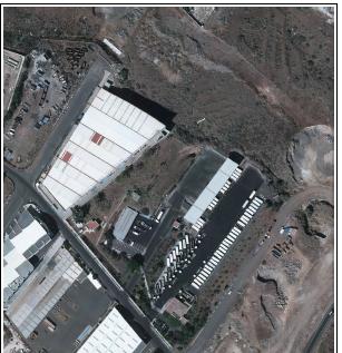 Encauzamiento del barranco del Humilladero en la parcela del nuevo Centro Logístico de Gestión de Residuos del Polígono Industrial de El Chorrillo