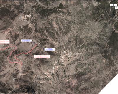 Actualización del Proyecto Mejora del Abastecimiento Urbano de la Isla de La Gomera. Actuaciones en el barranco de la Negra (Término Municipal de Alajeró)