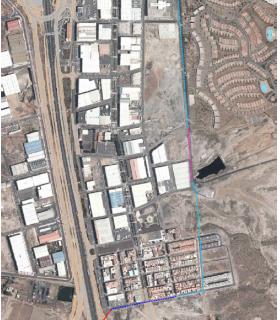 Proyecto de Construcción de Ramal de distribución de agua de riego de Las Chafiras