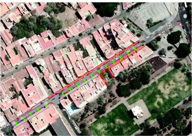 Peritación de las obras del Proyecto de Urbanización de calle Ruiz de Padrón, TM de San Sebastián de La Gomera