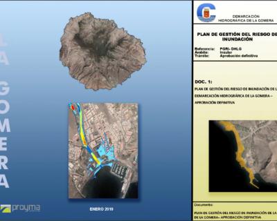 Redacción del Plan de Riesgo de Inundación (PGRI) de la Demarcación Hidrográfica de La Gomera