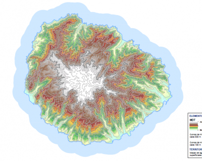 Redacción del Plan de Riesgo de Inundación de la Demarcación Hidrográfica de La Gomera