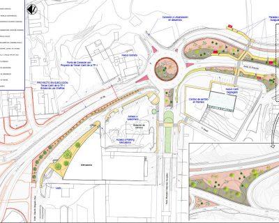 Proyecto de Construcción «Mejora de la intersección de la carretera insular TF-65 con el polígono industrial de Las Chafiras, término municipal de San Miguel de Abona» (Lote 3)
