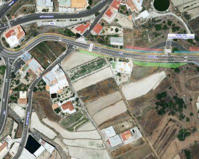 Proyecto de Construcción «Mejora de la intersección de la carretera insular TF-21 con la TF-563, término municipal de Vilaflor» (Lote 4)