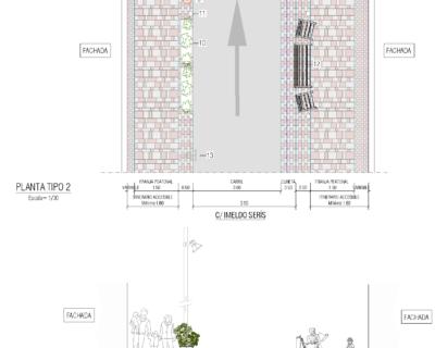 """Servicios de redacción de proyecto, dirección facultativa y coordinación de seguridad y salud de las obras """"Remodelación de la Calle Imeldo Serís"""""""