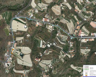 Proyecto de Construcción «Acera peatonal en la margen derecha de la CI TF-51 PPKK 9+500 a 10+500. T.M. de Vilaflor»