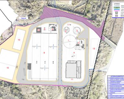 Secado solar de la EDAR de Güímar, Almacén Logístico y Tratamiento Terciario