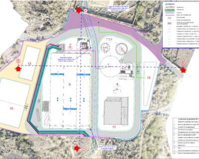 Proyecto Básico de «Secado solar de la EDAR de Güímar, Almacén Logístico y Tratamiento Terciario»