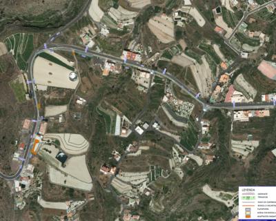 Proyecto de Construcción de «Acera peatonal en la margen derecha de la CI TF-51 PPKK 9+500 a 10+500. T.M. de Vilaflor»