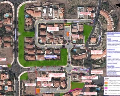 Proyecto Básico y de Ejecución de la Urbanización de las obras de terminación para la recepción de la Urbanización Parque el Durazno