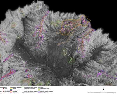 Estudio de Aglomeraciones urbanas en la Isla de La Gomera