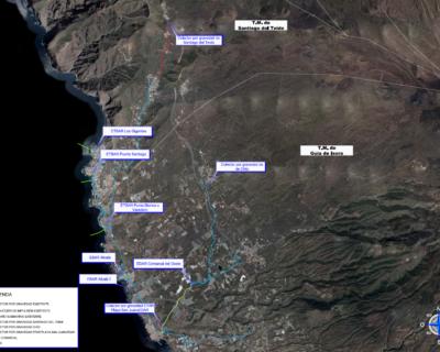 EA para Redacción y tramitación de documentos ambientales de los proyectos de saneamiento y depuración de AR previstos en los subsistemas Oeste y Valle de la Orotava