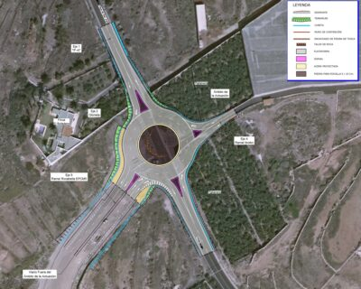 """Proyecto de Construcción """"Nueva glorieta en el PK 4+380 de la carretera insular TF-47, T.M. Adeje"""""""