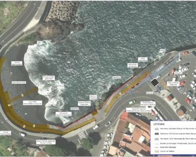 Proyecto de construcción de «Acondicionamiento de la Playa del Muelle», T.M. de La Villa y Puerto de Garachico