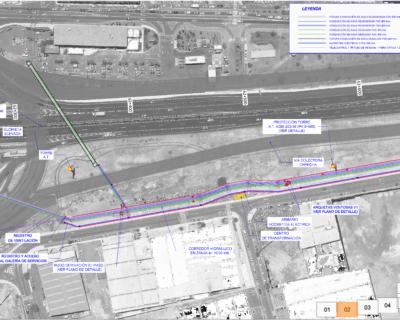 """Proyecto de Construcción de """"Corredor Hidráulico en el Nuevo Enlace de Las Chafiras de la autopista TF-1"""""""